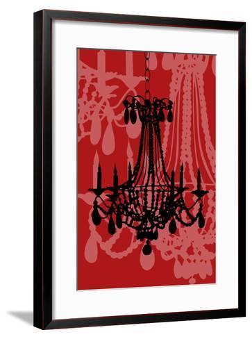 Chandelier 4 Wine-Sharyn Sowell-Framed Art Print