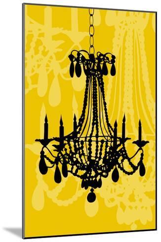 Chandelier 4 Maize-Sharyn Sowell-Mounted Premium Giclee Print