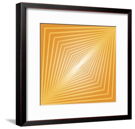 Modern Geometrics D-GI ArtLab-Framed Art Print