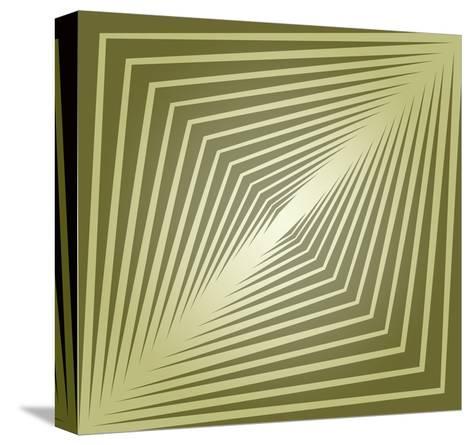Modern Geometrics E-GI ArtLab-Stretched Canvas Print