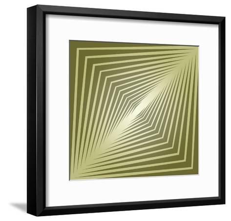 Modern Geometrics E-GI ArtLab-Framed Art Print