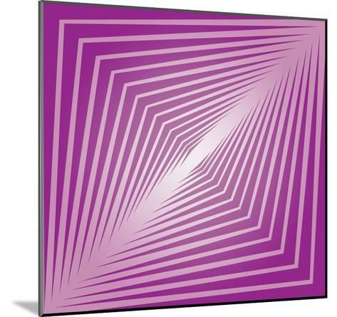Modern Geometrics F-GI ArtLab-Mounted Premium Giclee Print