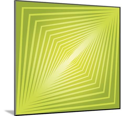Modern Geometrics H-GI ArtLab-Mounted Premium Giclee Print