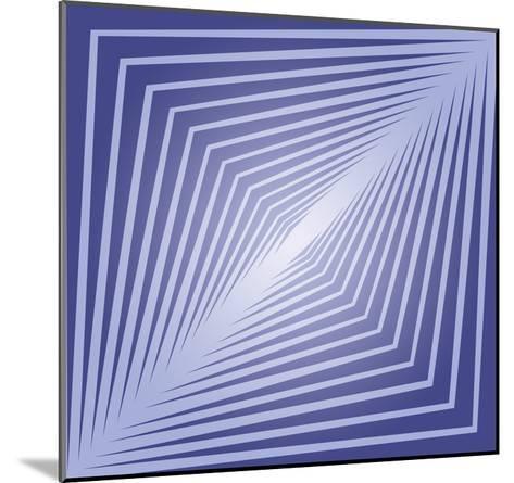 Modern Geometrics J-GI ArtLab-Mounted Premium Giclee Print