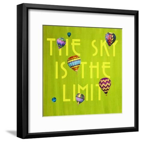 The Sky is the Limit-GI ArtLab-Framed Art Print