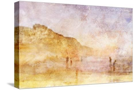 Summer Beach 1-Thea Schrack-Stretched Canvas Print