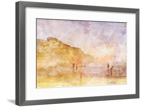 Summer Beach 1-Thea Schrack-Framed Art Print