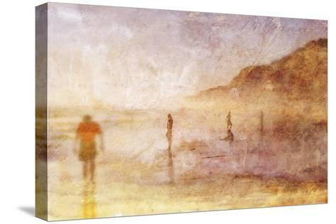 Summer Beach 2-Thea Schrack-Stretched Canvas Print