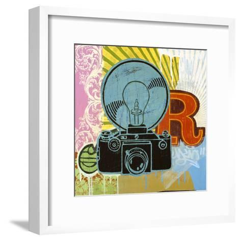 Super Flash-Johnny Taylor-Framed Art Print