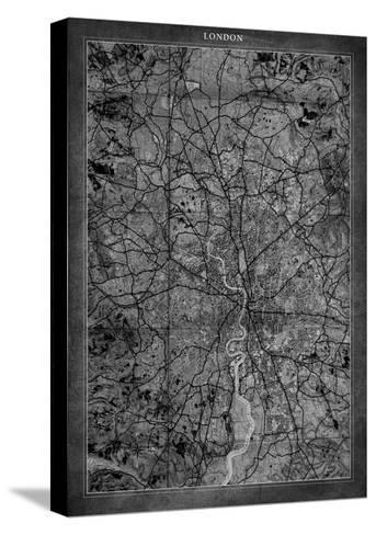 London Map-GI ArtLab-Stretched Canvas Print