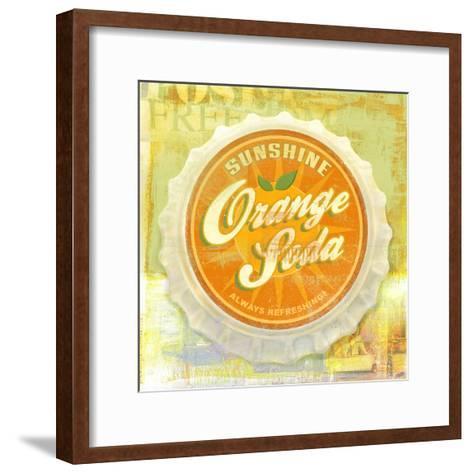 Orange-Cory Steffen-Framed Art Print
