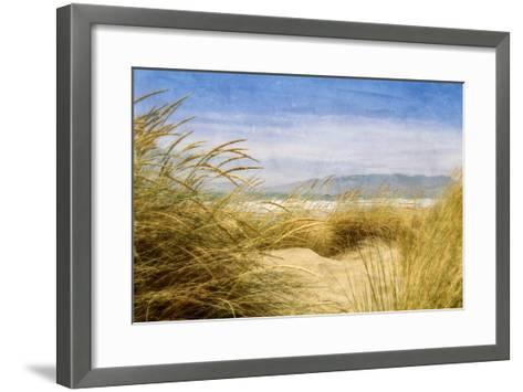 Dune Grass 4-Thea Schrack-Framed Art Print