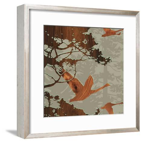 Bird 2-jefdesigns-Framed Art Print