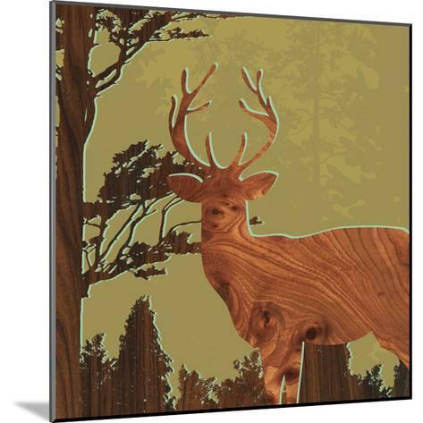 Deer 1-jefdesigns-Mounted Premium Giclee Print