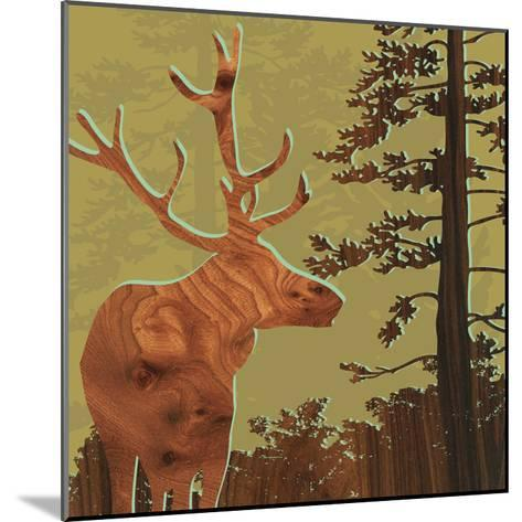 Deer 2-jefdesigns-Mounted Premium Giclee Print