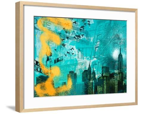 City Scrim C-GI ArtLab-Framed Art Print