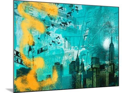 City Scrim C-GI ArtLab-Mounted Premium Giclee Print