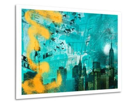 City Scrim C-GI ArtLab-Metal Print