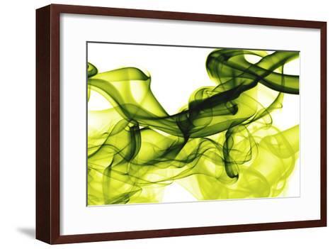 Green Smoke-GI ArtLab-Framed Art Print