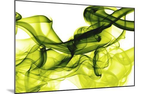 Green Smoke-GI ArtLab-Mounted Premium Photographic Print