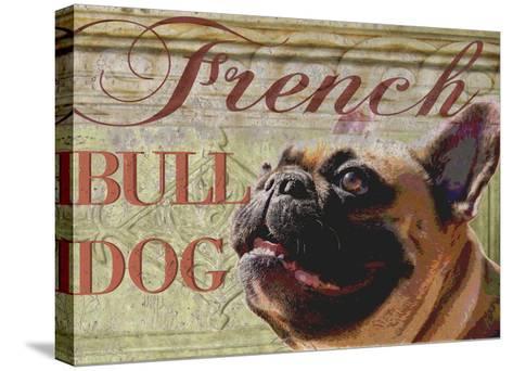 French Bulldog-Wendy Presseisen-Stretched Canvas Print