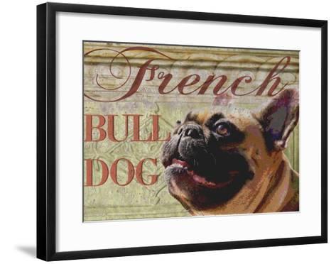 French Bulldog-Wendy Presseisen-Framed Art Print