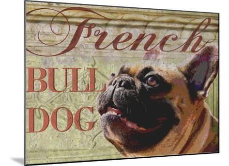 French Bulldog-Wendy Presseisen-Mounted Premium Giclee Print