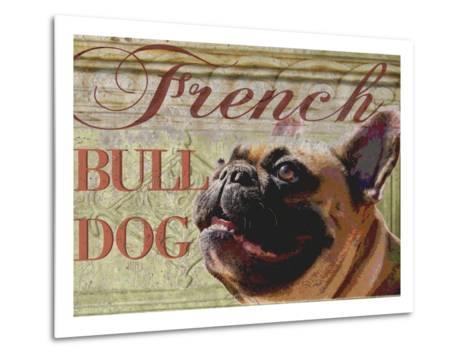 French Bulldog-Wendy Presseisen-Metal Print