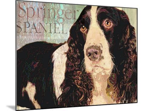 Springer Spaniel-Wendy Presseisen-Mounted Premium Giclee Print