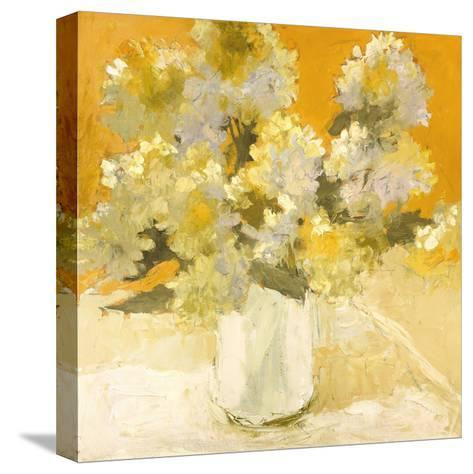 White Hydrangea Bouquet-Dale Payson-Stretched Canvas Print