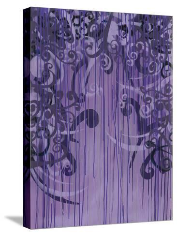 In the Thistles 5-Sid Rativo-Stretched Canvas Print