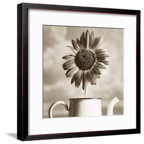 Sunflower Clouds-TM Photography-Framed Art Print