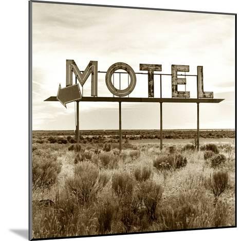 Motel Sign-TM Photography-Mounted Premium Photographic Print