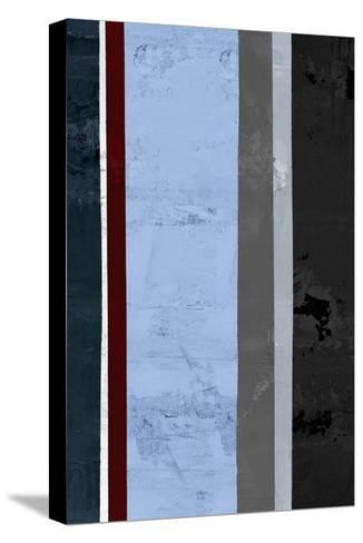 Winter Stripes 1-GI ArtLab-Stretched Canvas Print
