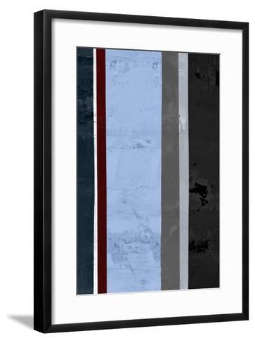 Winter Stripes 1-GI ArtLab-Framed Art Print