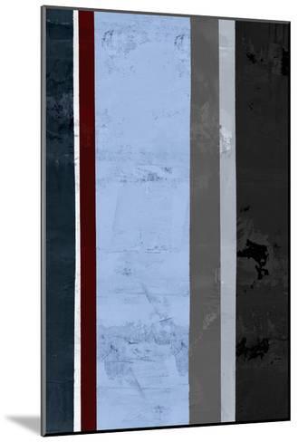 Winter Stripes 1-GI ArtLab-Mounted Premium Giclee Print