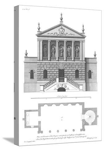 Vitruvius Britannicus 3, Colen Campbell-Porter Design-Stretched Canvas Print