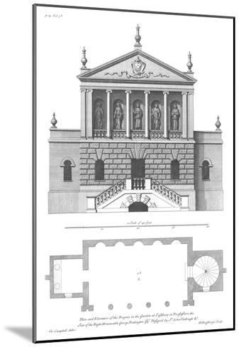 Vitruvius Britannicus 3, Colen Campbell-Porter Design-Mounted Premium Giclee Print