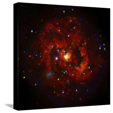 SAO: M83 Spiral Galaxy--Stretched Canvas Print