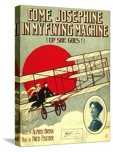 Smithsonian Libraries: Come, Josephine, in my Flying Machine (Up she Goes!)--Stretched Canvas Print