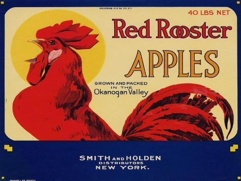 Warshaw Collection of Business Americana Food; Fruit Crate Labels, Smith & Holden Distributors--Stretched Canvas Print