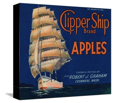 Warshaw Collection of Business Americana Food; Fruit Crate Labels, Captain Robert J. Graham--Stretched Canvas Print