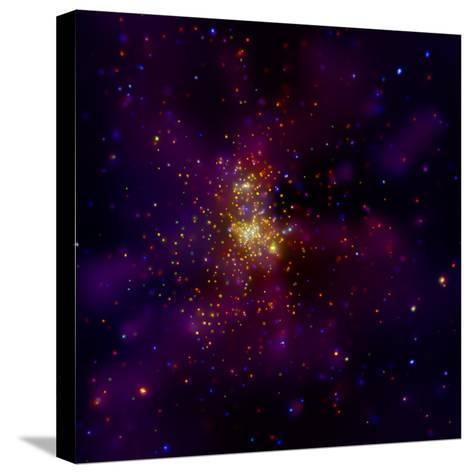 This Chandra X-ray Observatory Image Shows Westerlund 2, a Young Star Cluster--Stretched Canvas Print