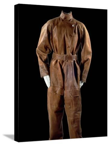 National Postal Museum: Amelia Earhart's Flight Suit--Stretched Canvas Print