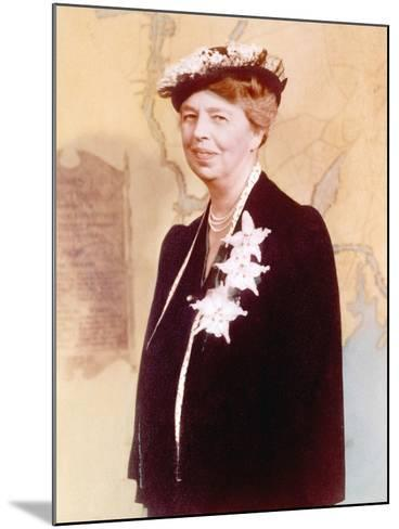 Eleanor Roosevelt, Hand Colored Photograph Circa 1936--Mounted Photo