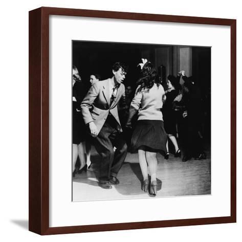 Jitterbugs at an Elk's Club Dance, in Washington, D.C. April 1943--Framed Art Print