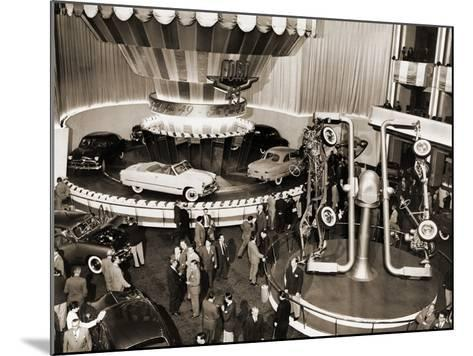 1949 Model Ford Cars Introduced to the Public in Grand Ballroom of the Waldorf-Astoria Hotel, NYC--Mounted Photo
