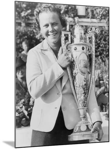 Patty Berg after Winning the National Women's Golf Championship, Sept. 25, 1938--Mounted Photo