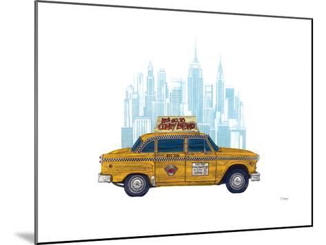 Taxi New York-Barry Goodman-Mounted Giclee Print