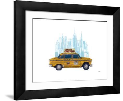 Taxi New York-Barry Goodman-Framed Art Print